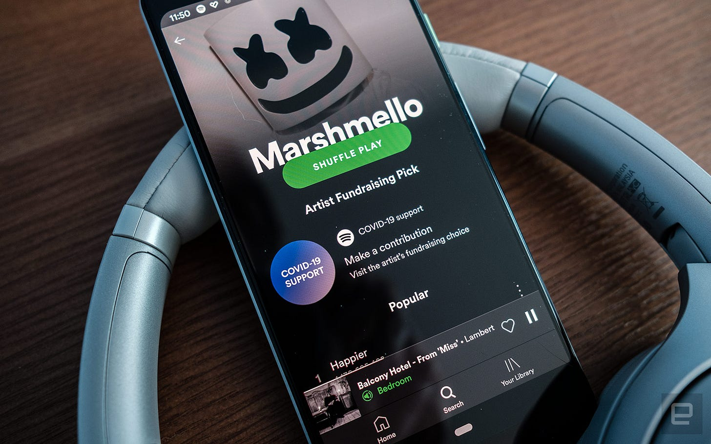Musicians on Spotify can add fundraising links to their profiles ...