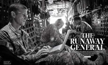 Rolling Stone man who brought down Stanley McChrystal   Stanley McChrystal    The Guardian