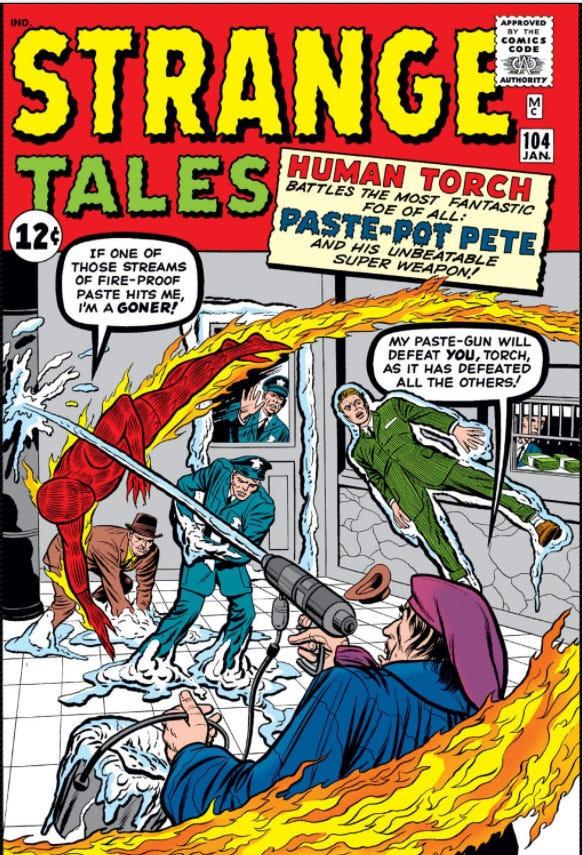 Strange Tales Vol 1 104   Marvel Database   Fandom