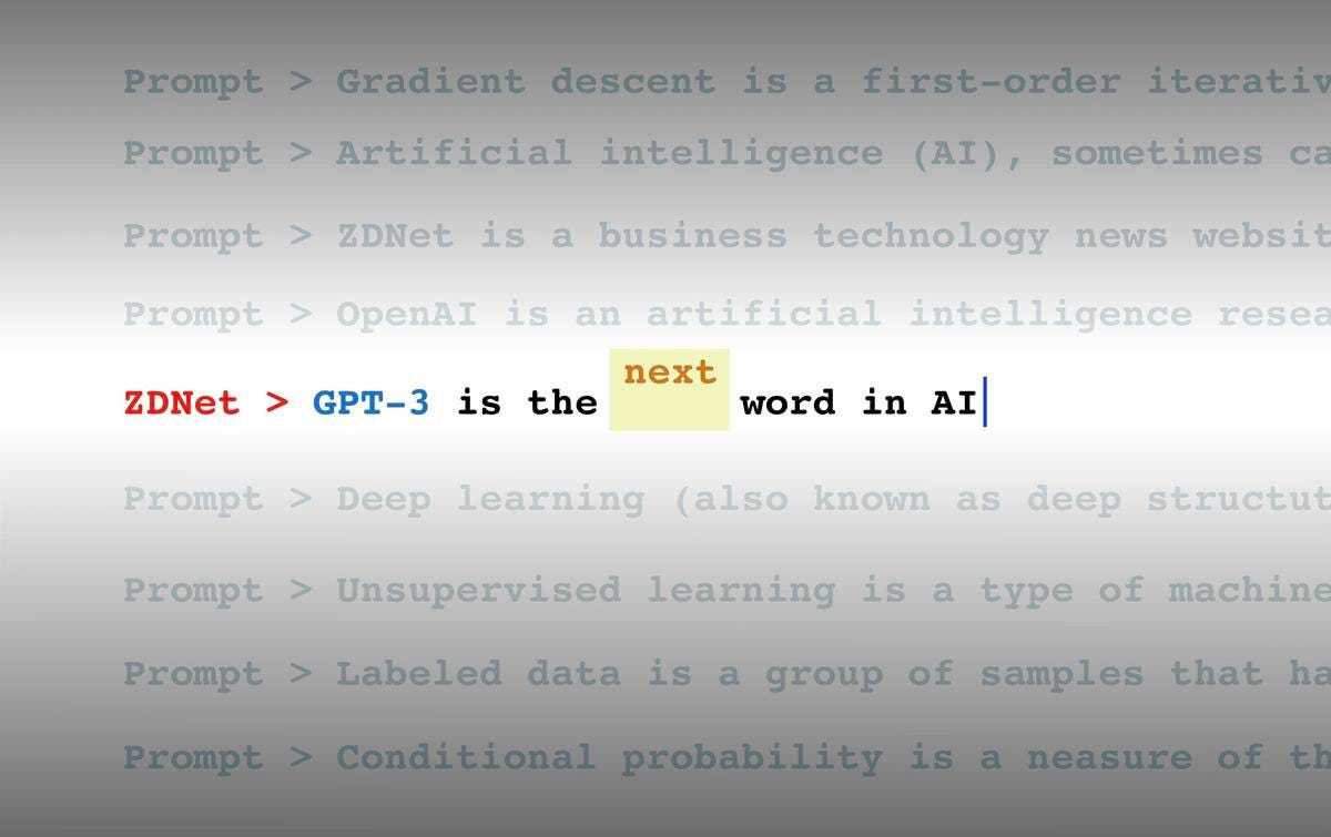 What is GPT-3? Everything your business needs to know about OpenAI's  breakthrough AI language program | ZDNet