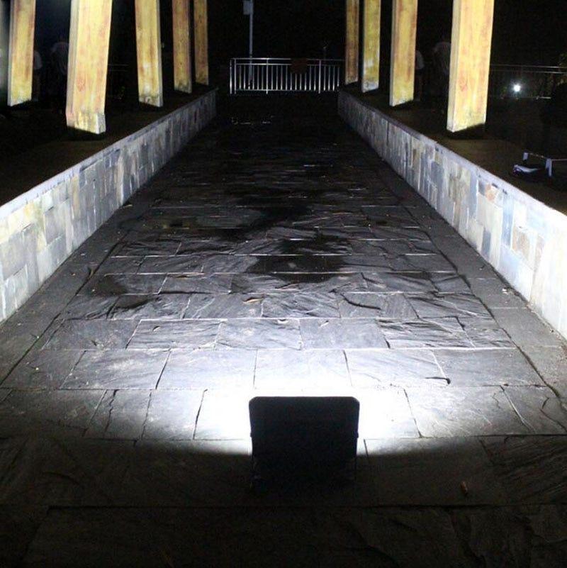 10PCS Solar LED Light Spotlight 25W 40W 60W Remote Light Control Floodlight Solar powered Street Lamp Waterproof IP67