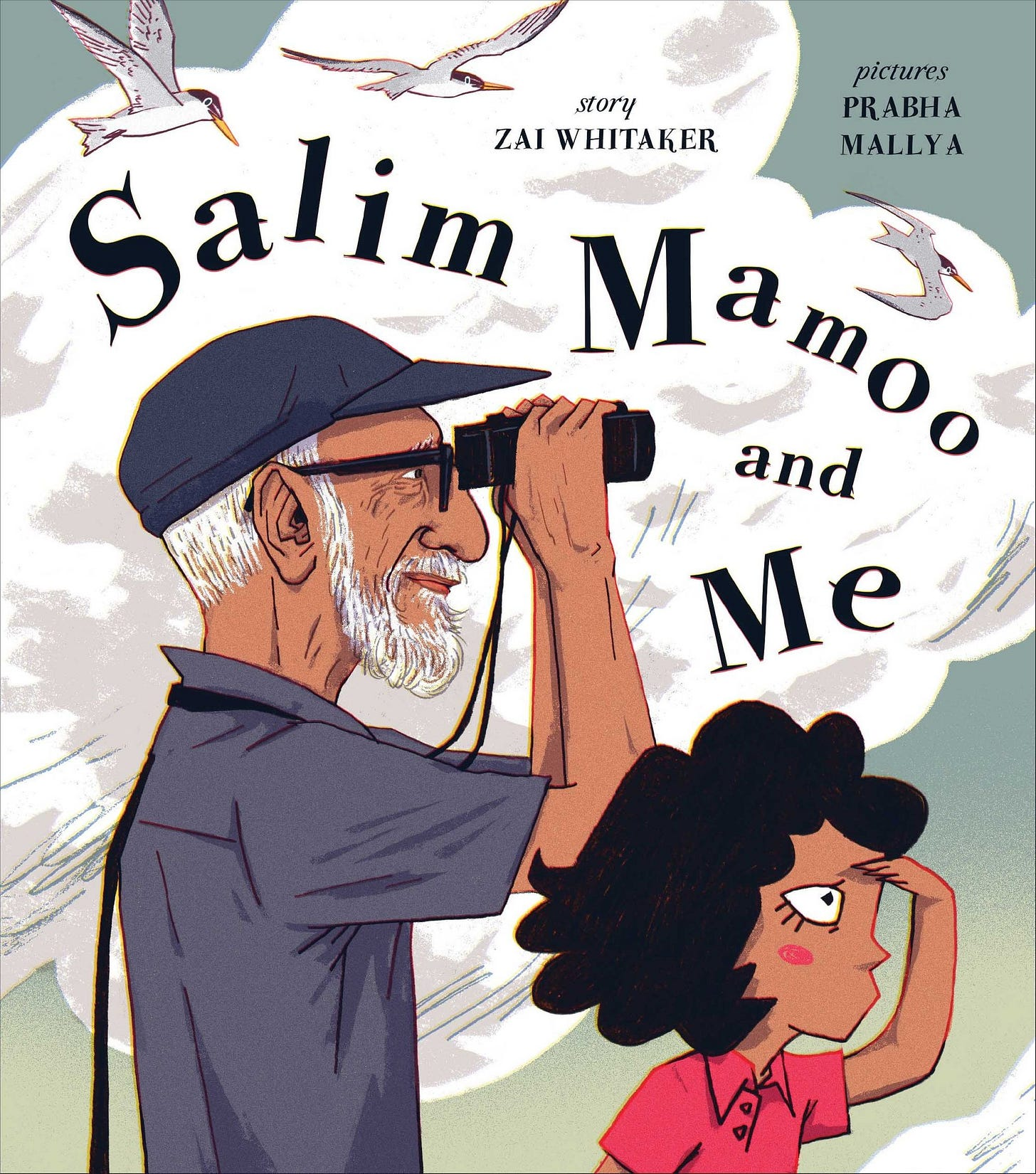 A Picturebook about Expectations and Pressure: Salim Mamoo and Me
