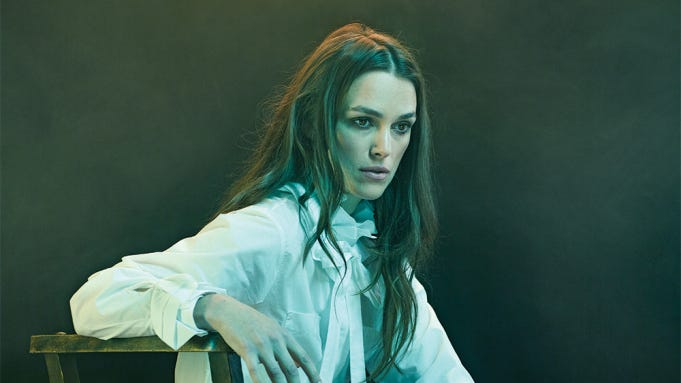 Keira Knightley photgraphed for Variety by