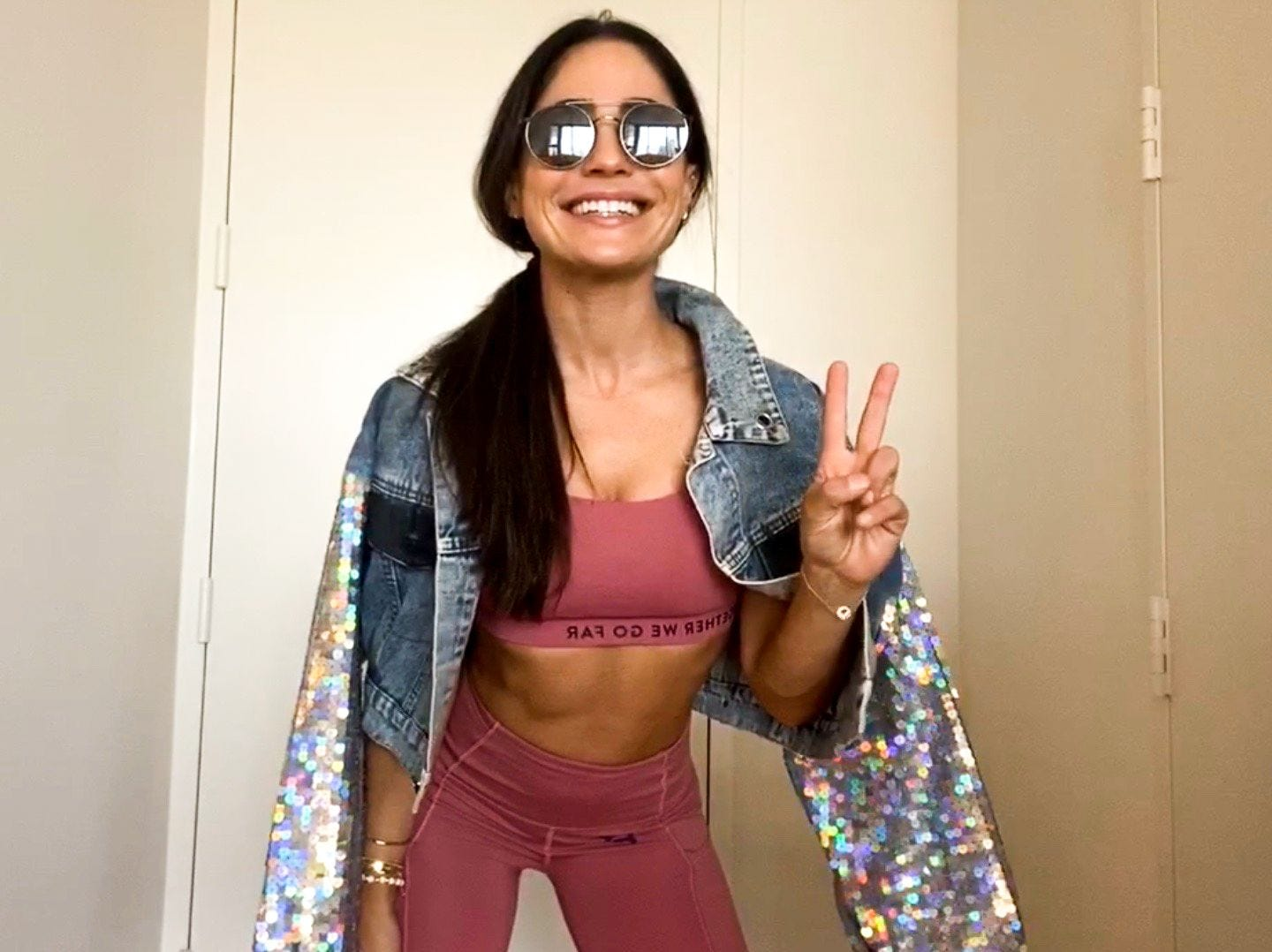 Peloton Instructor Olivia Amato's Week In Workout Outfits | The Output