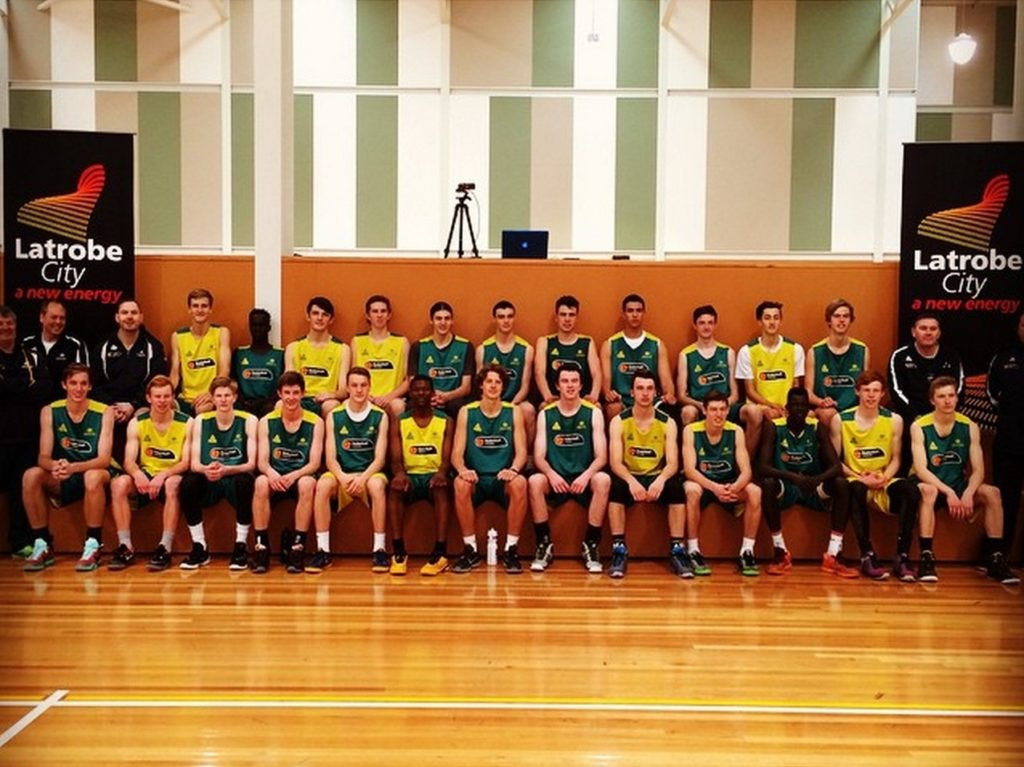Australian U17 squad - first training camp | Photo credit: Justin Schueller, via Instagram