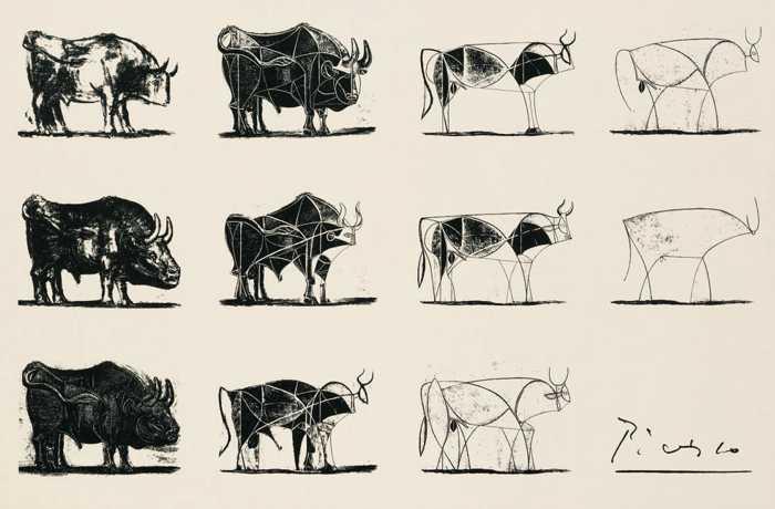 Pablo Picasso - Bull (1945)