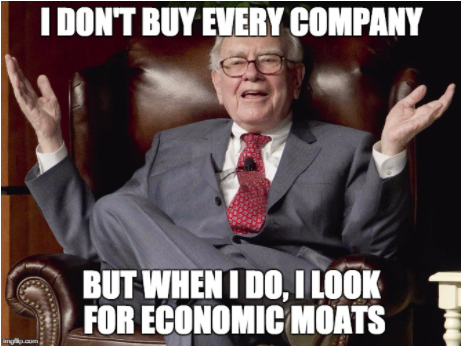 Investing in Companies with Economic Moats can give you an Edge –  CapitalistLAD