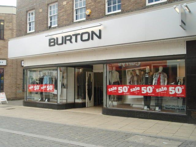 Burton Shop, High Street - geograph.org.uk - 729719