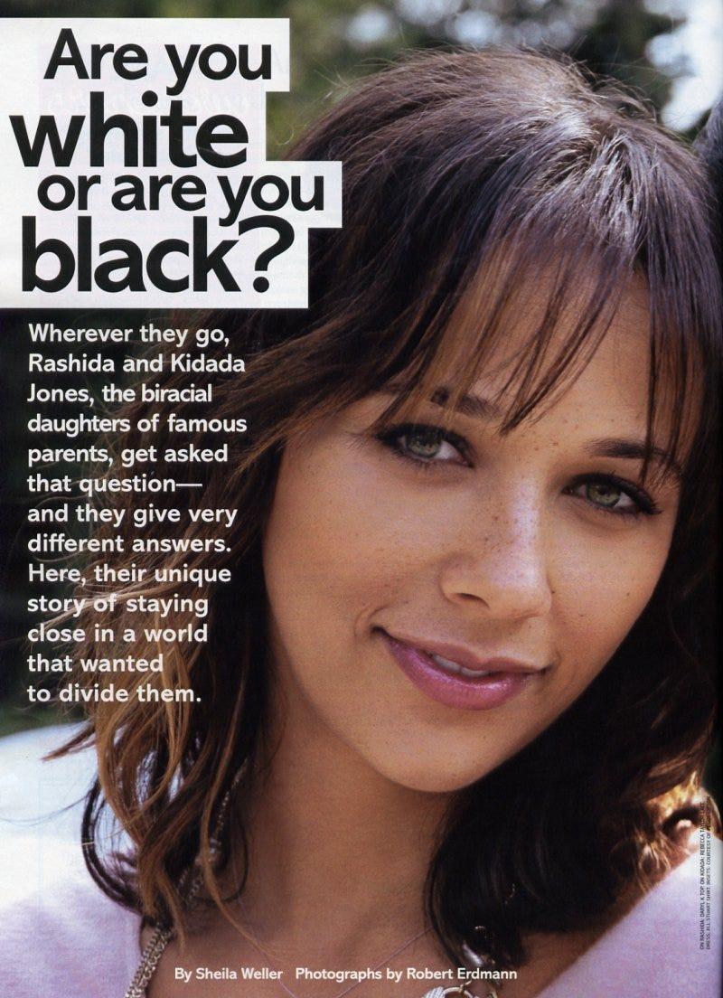 Black and White Identity race Biracial blackaudacity •