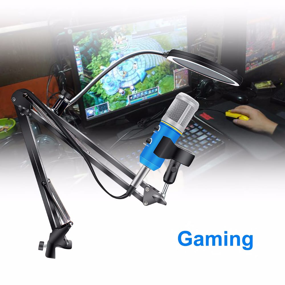 160874915 Bm 900 Condenser Usb Microphone For Computer With Tripod Chatting Recording Gaming Microfone Upgraded From Bm 800 Consumer Electronics Portable Audio Video