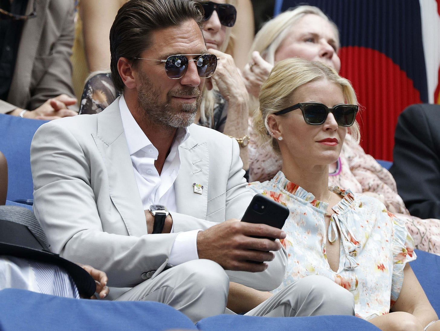 Brad Pitt Paled In Comparison To The God Henrik Lundqvist At The US Open  Final | Barstool Sports
