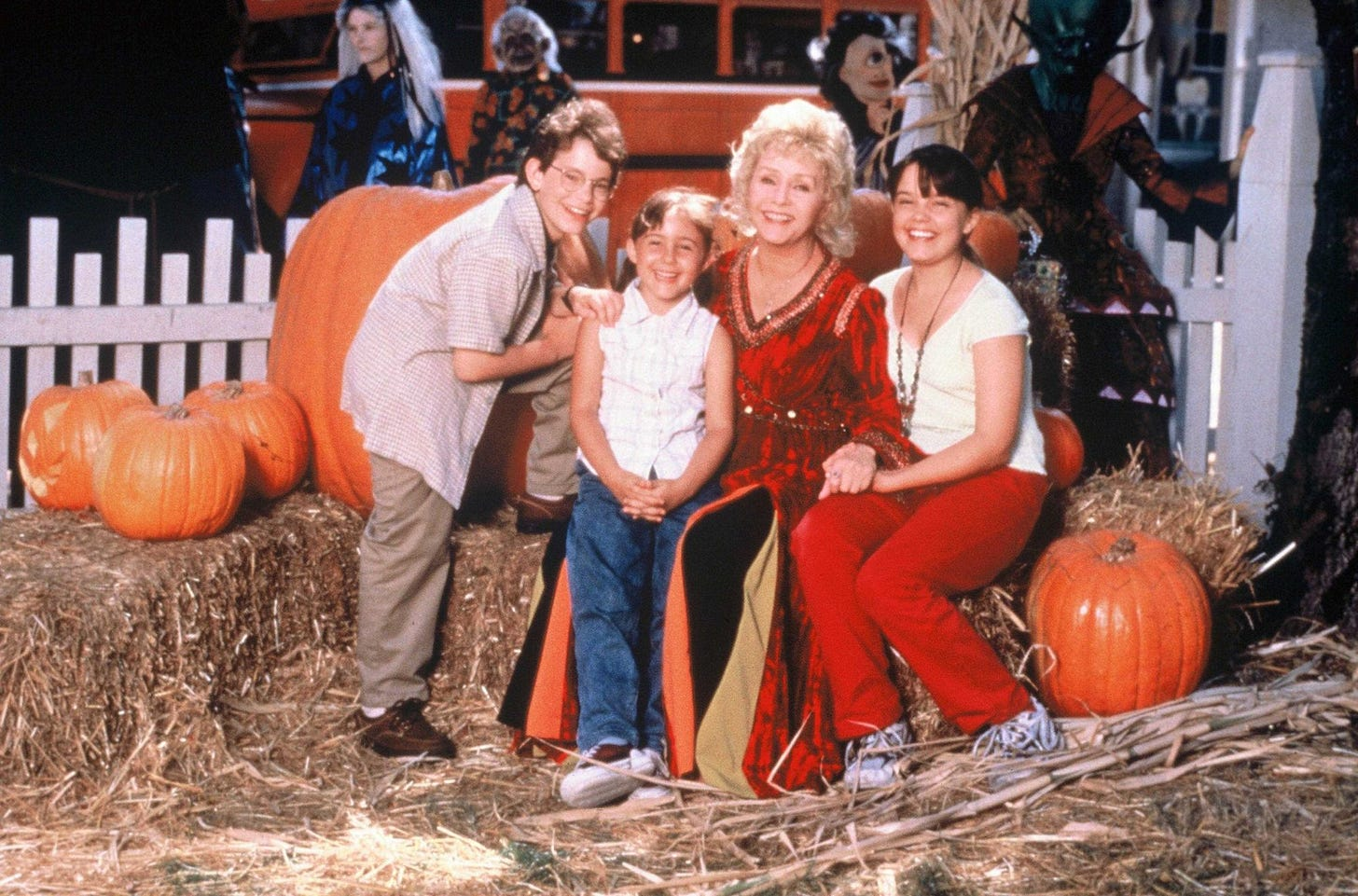 Halloweentown's main cast members.