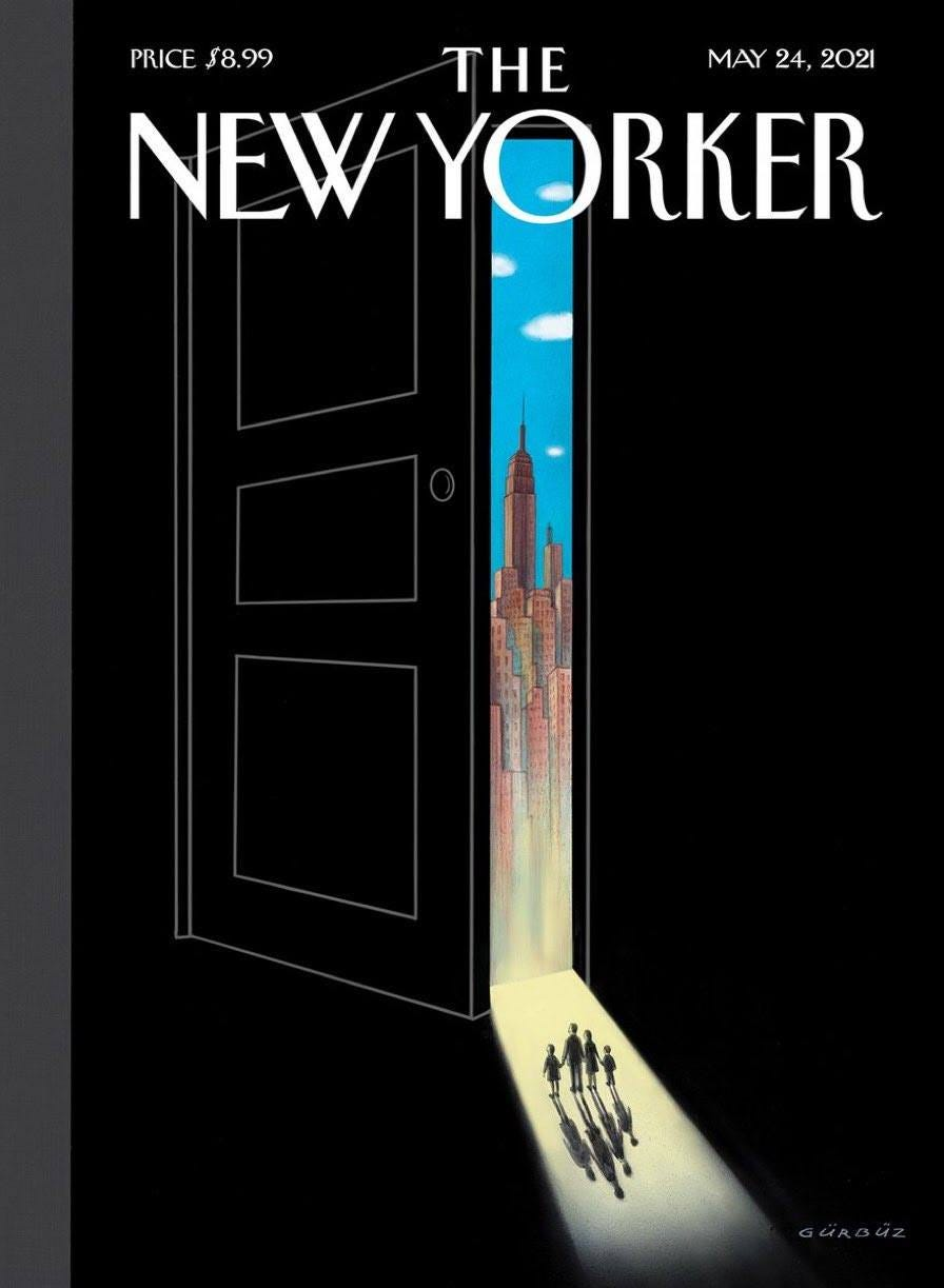 May be an image of text that says 'PRICE PRICE$8.99 $8.99 THE MAY 24, 2021 NEW YORKER'