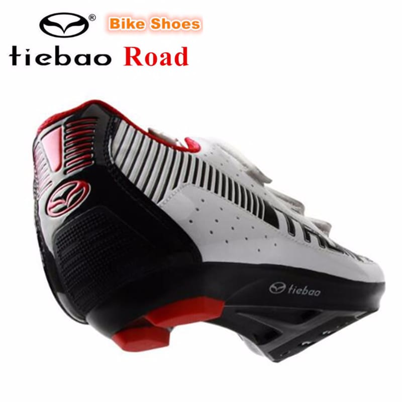 TIEBAO road cycling shoes sapatilha ciclismo men bike ultralight bicycle sneakers men self-locking professional sport shoes