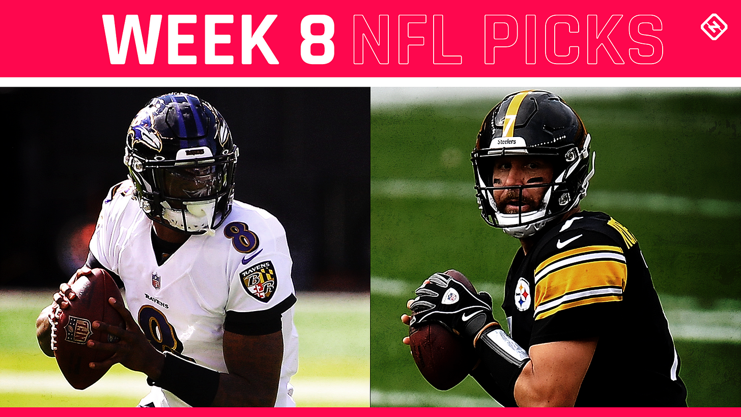 NFL expert picks, predictions for Week 8 straight up   Sporting News