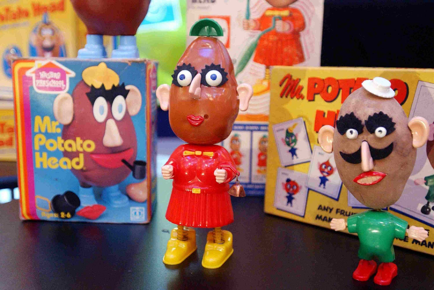 Old Mr. and Mrs. Potato Head