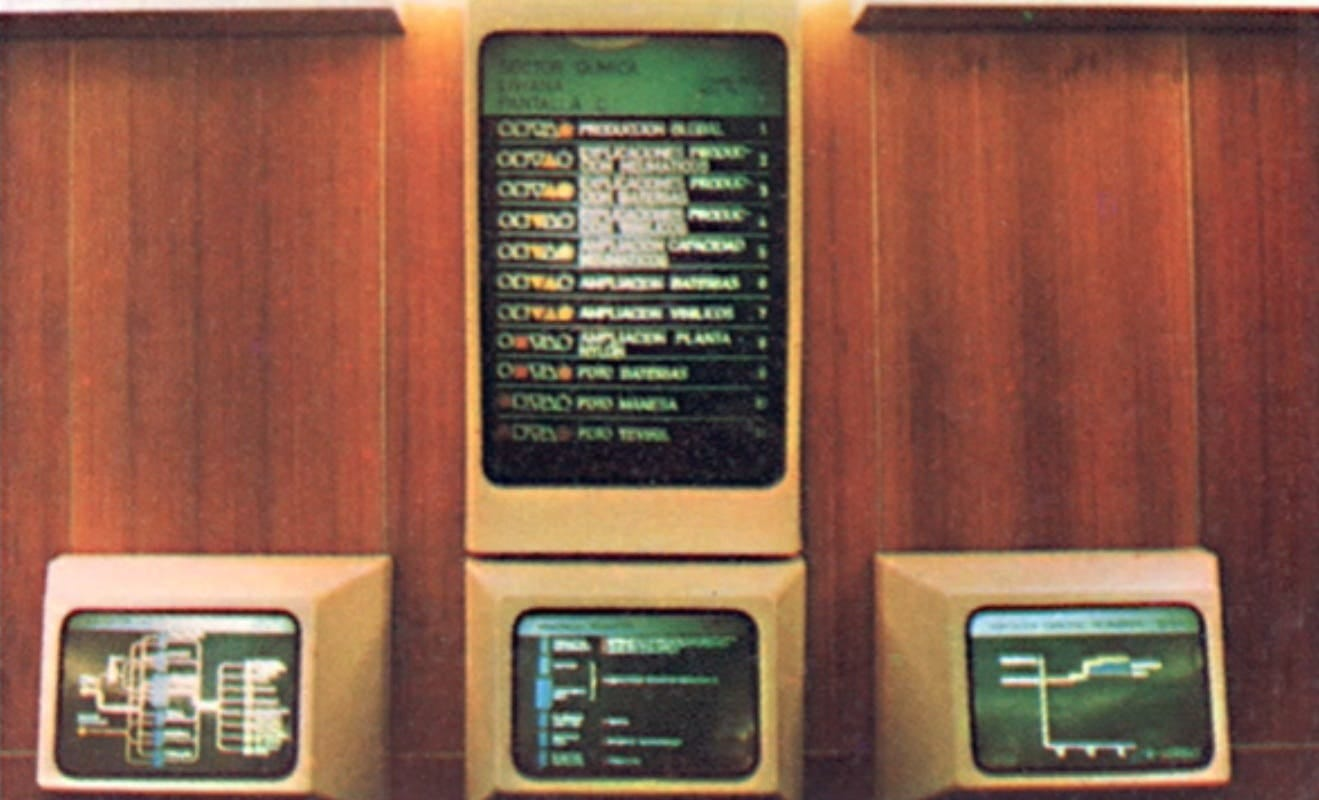 Historia de la Tecnología: Cybersyn