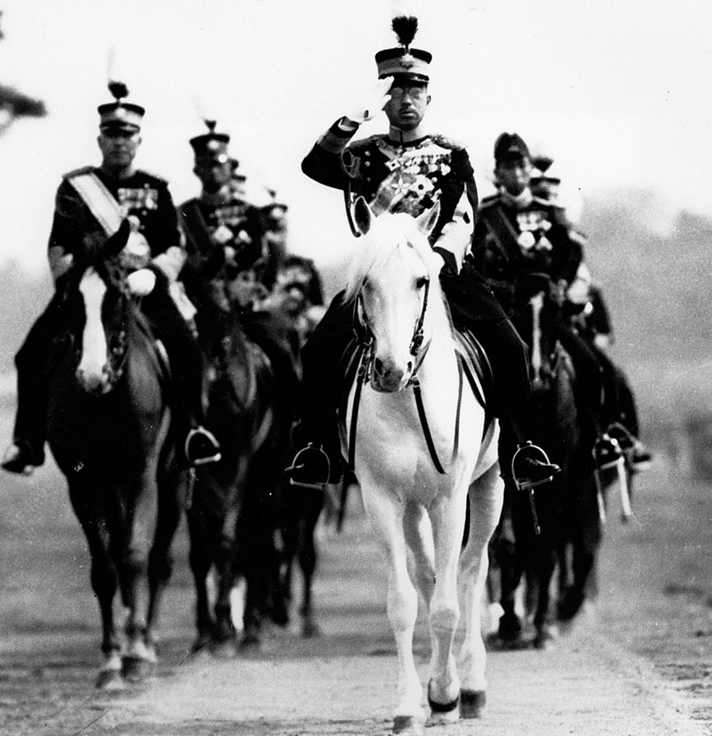 Image result for macarthur and hirohito