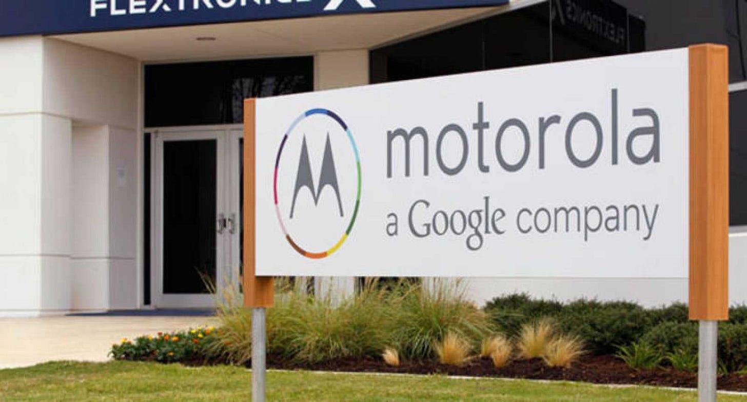 Google vende Motorola a Lenovo por 2.130 millones de euros | RTVE