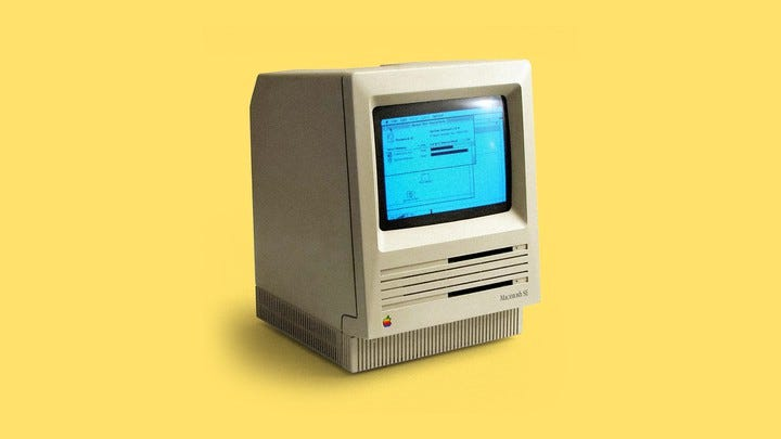 What It's Like to Work on a 30-Year-Old Macintosh - The Atlantic