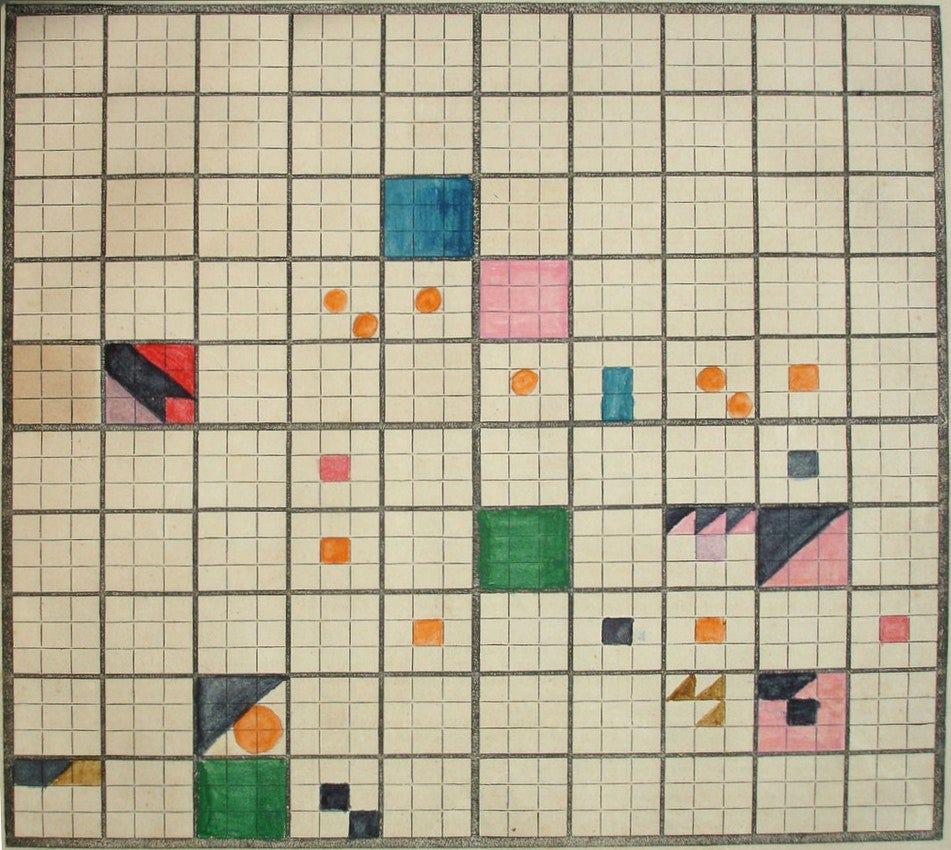 visual grid from Elizabeth Peabody's Universal History