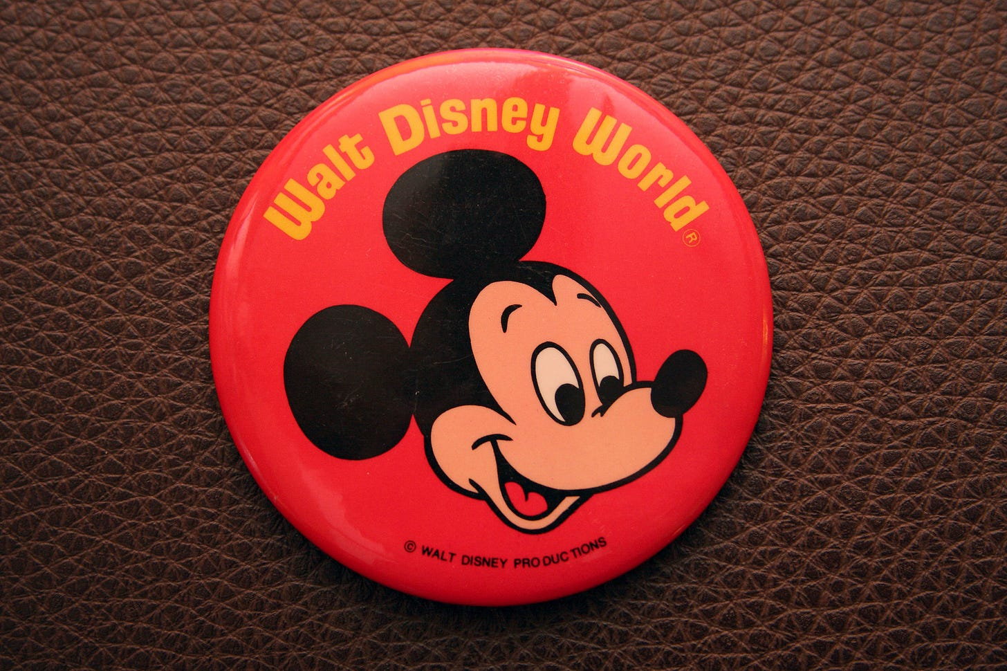 Walt Disney World button