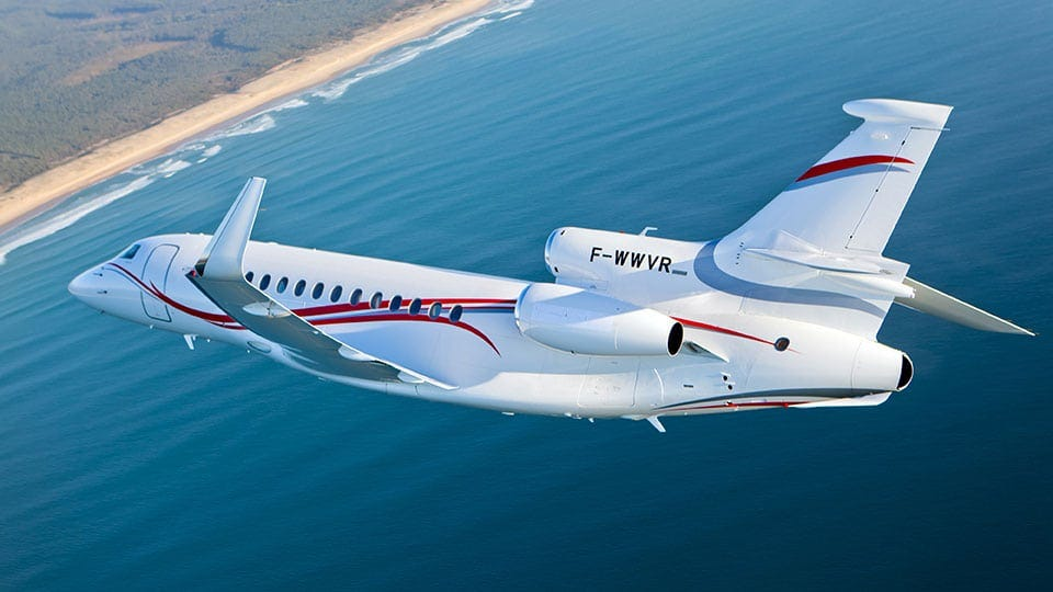 OnAir Connectivity Deployed on First Dassault Falcon - Aviation Today