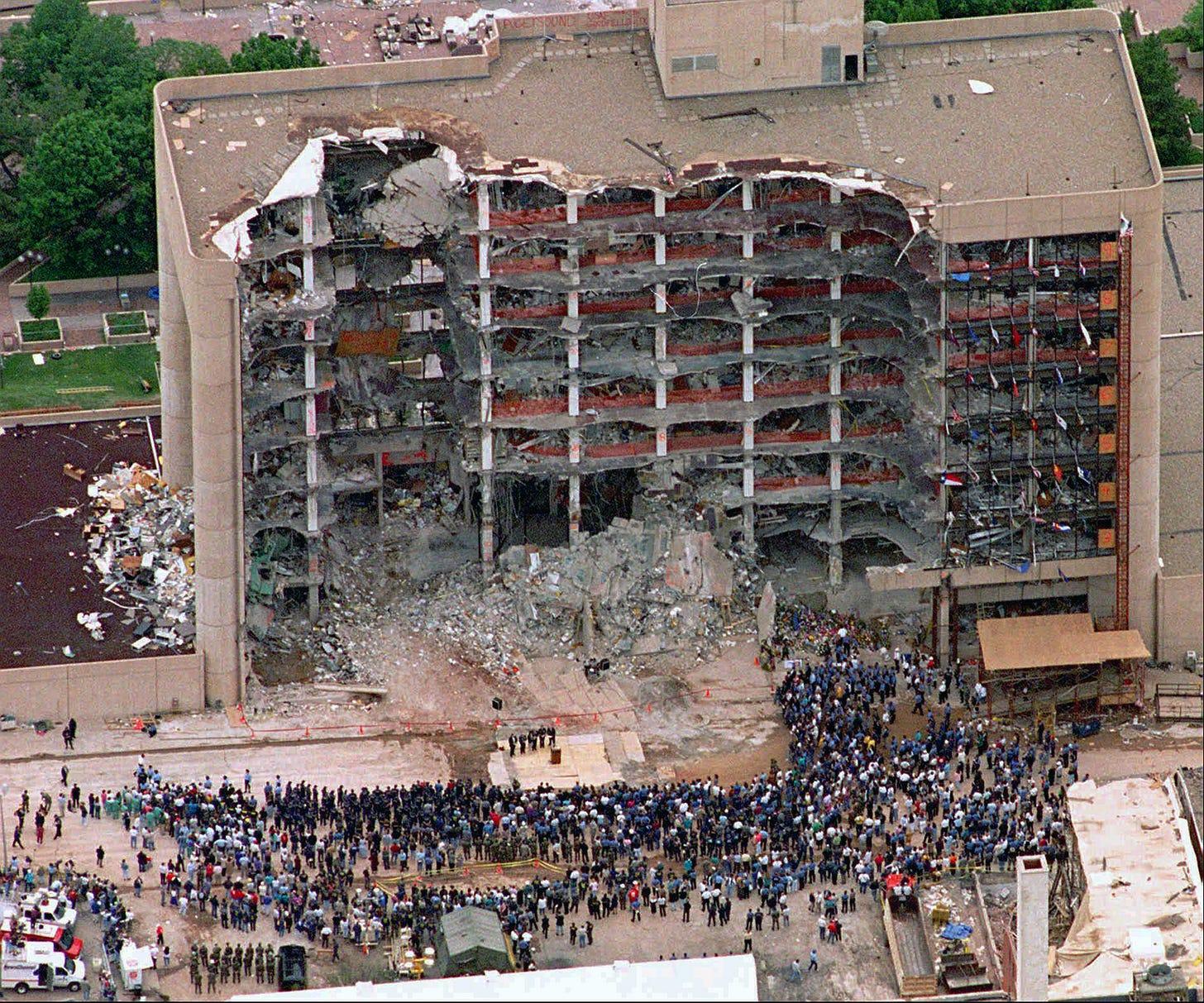 Oklahoma City bombing   Facts, Motive, Timothy McVeigh, Waco, & Deaths    Britannica