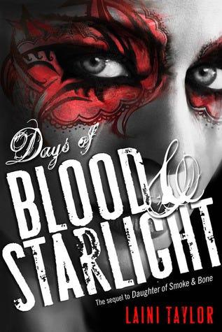 Days of Blood & Starlight (Daughter of Smoke and Bone, #2)