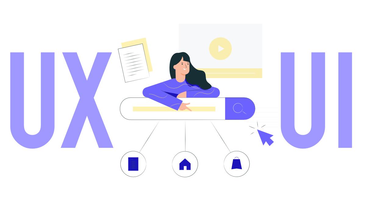 An image depicting UX/UI Design