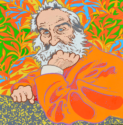 The Body Electric: portrait of Walt Whitman | Steve Justice Studio