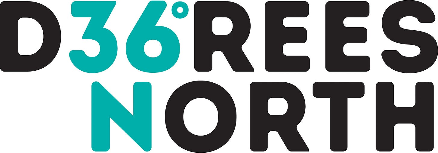 Image result for 36 degrees north logo