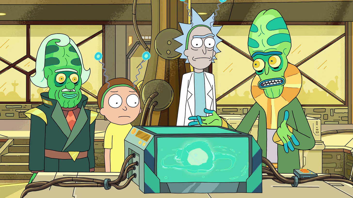 The Ricks Must Be Crazy   Rick and Morty Wiki   Fandom