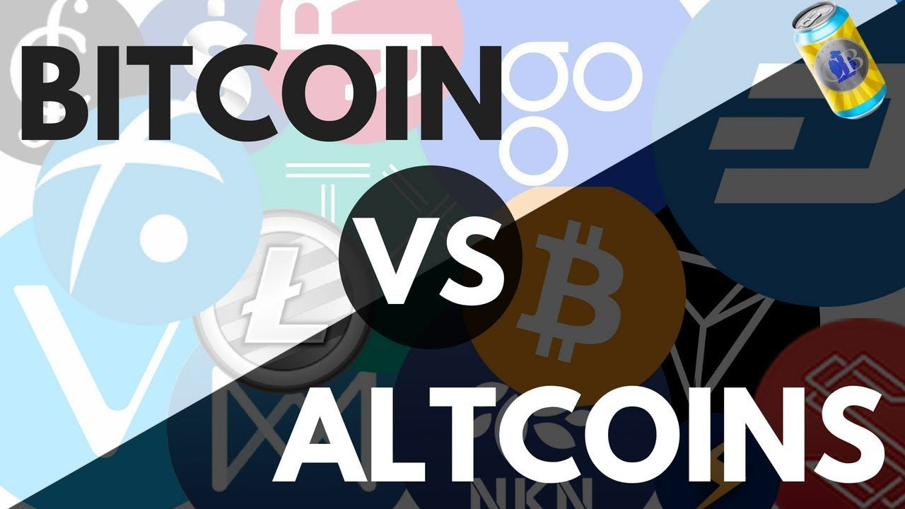Alts or BTC? Bitcoin Price Predictions- Which Is best To Buy In 2018? My  Strategy - YouTube