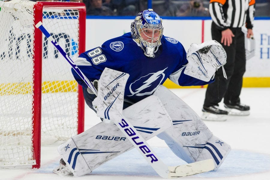 Andrei Vasilevskiy is back – and Tampa Bay needs to keep him fresh ...