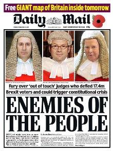 Enemies of the People (headline) - Wikipedia