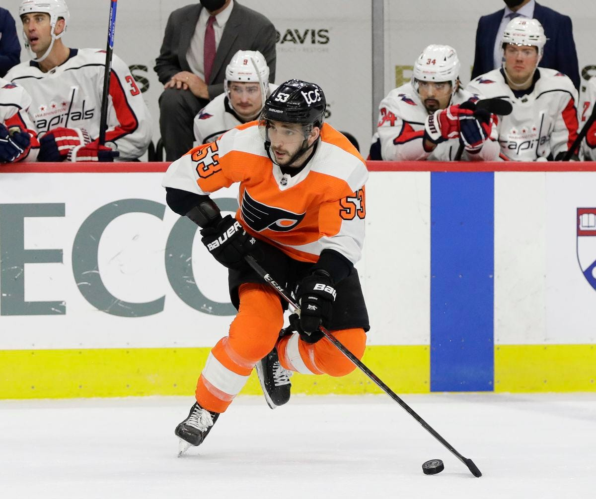 Shayne Gostisbehere returns to Flyers' lineup after benching