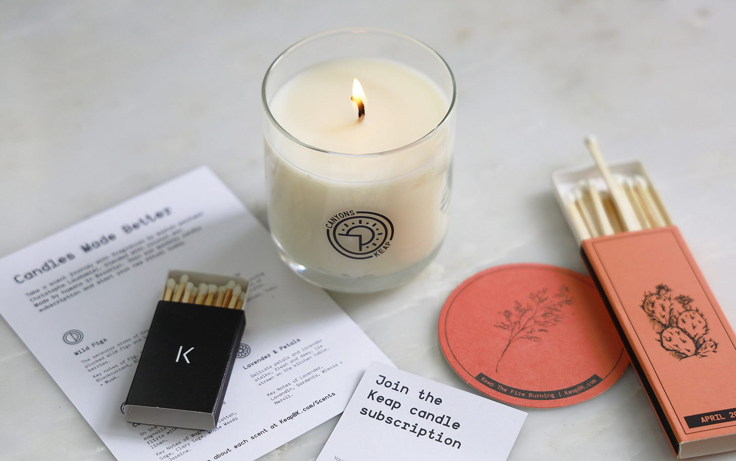 KEAP Candles from Brooklyn NYC ~ Scented Home & Garden