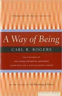 Image of the cover of A Way of Being by Carl Rogers