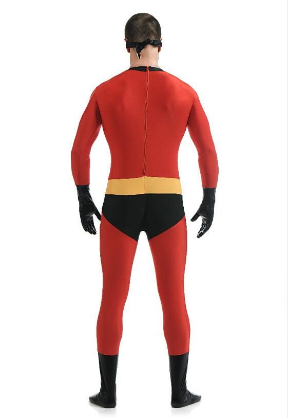 1333125772 The Incredibles 2 Elastigirl Family Costume Spandex Halloween Party Adult Kids Superhero Cosplay Zentai Suit Jumpsuit Bodysuit Novelty Special Use Costumes Accessories