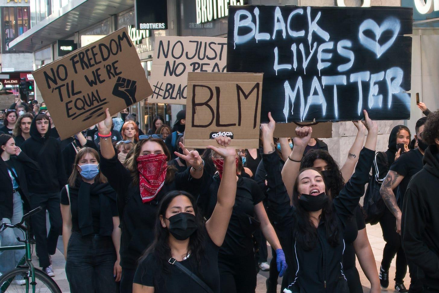 File:Black Lives Matter in Stockholm 2020.jpg - Wikimedia Commons