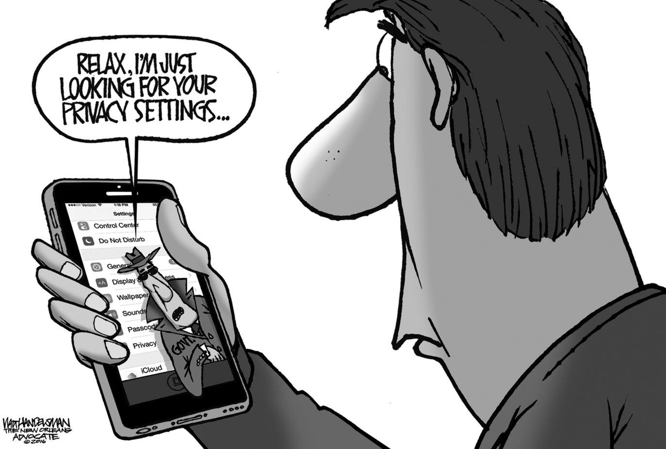 Handelsman, Walt - Editorial Cartoon - 20160228edhan-b.tif ...