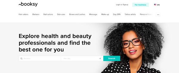 Güzellik merkezleri için Booksy kullanım ücreti aylık $30 ve $130 arasında değişiyor.