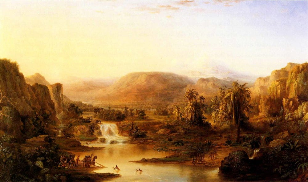Robert S. Duncanson's Land of the Lotus Eaters