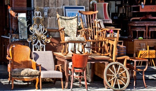 selling your furniture when moving