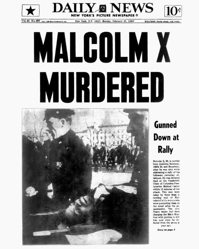 The Assassination of Malcolm X in Photos: 50 Years Later - CBS News