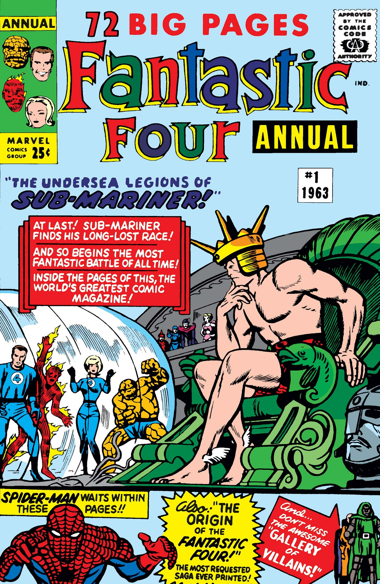 Fantastic Four Annual (1963) #1   Comic Issues   Marvel
