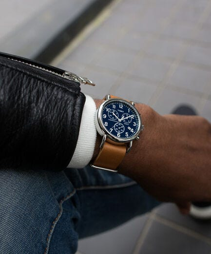 timex weekender chronography