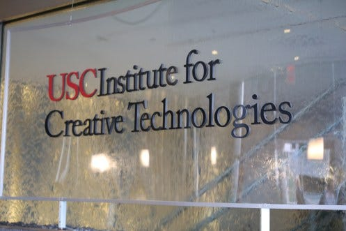 VTHS visits the USC Institute for Creative Technologies | VTHS Boys