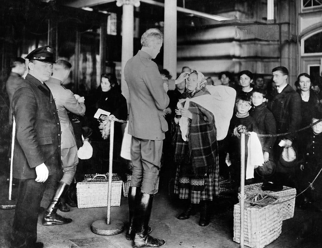 """Ellis Island Public Health Service Physicians"" by NIAID is licensed under CC BY 2.0"